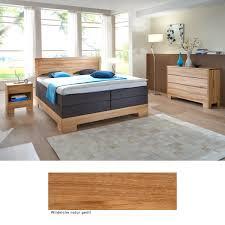 Schlafzimmer Komplett Massiv Schlafzimmer Lille Premium Eiche Massiv Boxspringbett Kommode Nako