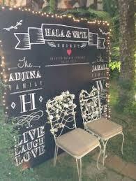wedding backdrop chalkboard image result for chalkboard photo backdrop wedding