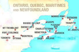 Canada City Map by Map Of Usa East Coast Beautiful East Coast Canada Map
