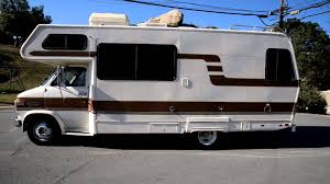 lazy daze motorhome rv mobile camper 1984 chevrolet g30 van class