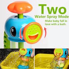 hippocampus sea horse shape kids pump pumping spray water bath