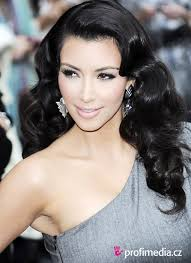 top picture of kim kardashian hairstyles