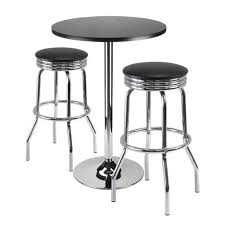 table with 2 stools 93362 3pc bar table with 2 stools walmart canada