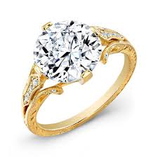 yellow gold diamond rings engraved yellow gold diamond ring