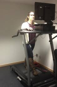 the delayed effect of treadmill desk usage on recall and attention