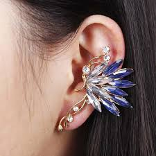 earring cuffs 2018 korean brand design women s quality moon earring