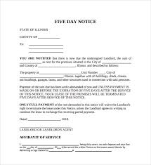 eviction notice sample