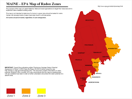 Radon Zone Map Find A Professional Radon Contractor In Maine Radonaway