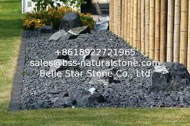 Black Garden Rocks Black Garden Stones Piccha