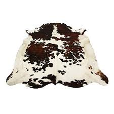 Hide Rugs Wholesale Amazon Com Tricolor Brazilian Cowhide Rug Cow Hide Skin Leather