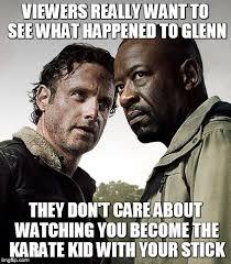 Glenn Walking Dead Meme - the walking dead season 6 meme imgflip