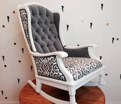 Gray Rocking Chair For Nursery Rocking Chair Josephine Rocker Handmade Rocking Chair In