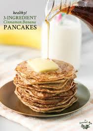 healthy banana pancakes the seasoned mom