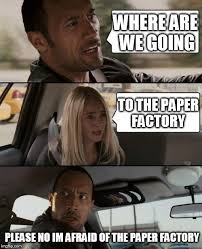 Factory Memes - paper beats rock imgflip