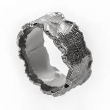 hammered wedding band mens wedding band rugged wedding ring mens hammered wedding
