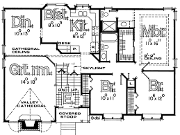 what is a split floor plan split entry house plans design basics