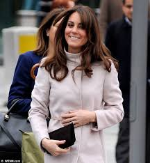 hairstyles for giving birth kate middleton hair what is duchess of cambridge hiding behind