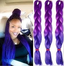 amazon com 5 pack ombre kanekalon jumbo braiding hair 24