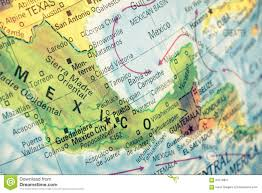 Maps Of Mexico by Map Of Mexico Close Up Image Stock Photo Image 50179857