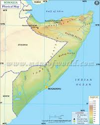 Sri Lanka Map Blank by Physical Map Of Somalia