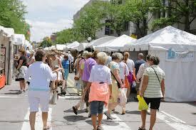 Map Of Ann Arbor Ann Arbor Art Fair