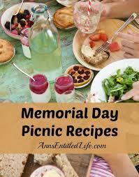 Backyard Picnic Ideas Memorial Day Picnic Recipes Jpg