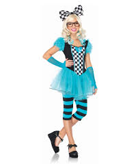 Halloween Nerd Costumes Girls Leg Avenue Harlequin Clown Girls Costume Girls Costumes Kids