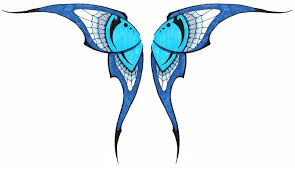 simple tribal butterfly wings by ashes360 on deviantart