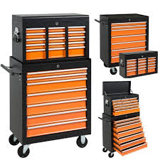 best choice products 16 drawers tool cart top chest box rolling