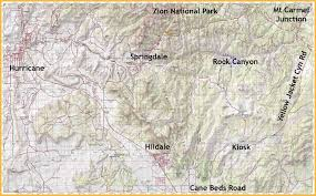 Map Of Zion National Park 100 Bryce Canyon Map Pdf Cannonville Utah Campground