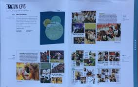 west high yearbook trojan epic featured by jostens for cutting edge design west
