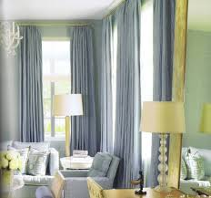 brown monochromatic curtains for living room