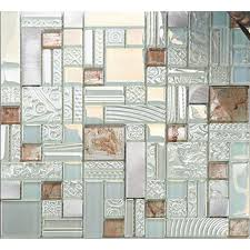 Kitchen Backsplash Glass Tiles Deluxe Glass Metal Mosaic Sheets Brushed Aluminum Backsplash Glass