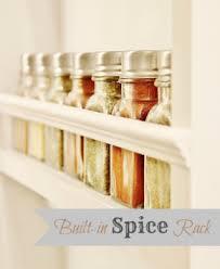 Flat Spice Rack 60 Innovative Kitchen Organization And Storage Diy Projects Diy