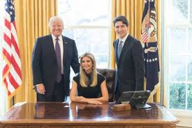 What Are The Two Flags In The Oval Office The Latest Political Rorschach Test A Picture Of Ivanka Trump