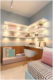 Desk Shelving Ideas Bedroom Shelves For The Wall And Desk Ideas A Small 2018 With
