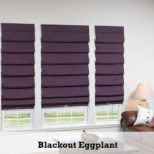 decorating cream blackout roman shades for exciting home