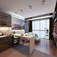 indoor interior design apartment with bright little room the