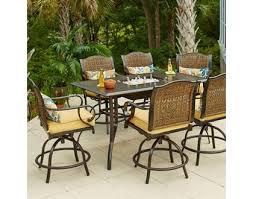 Patio High Dining Set Do You Actually This Hton Bay Vichy Springs 7 Patio