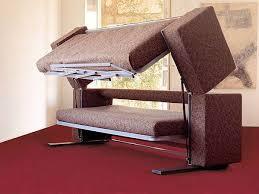 Convertible Bunk Beds Contemporary Living Room Design With Murphy Convertible Sofa Bunk