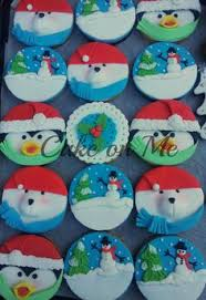 fondant christmas cookies snowman sweet christmas pinterest