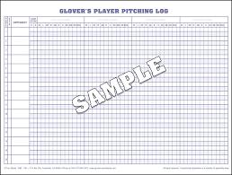 baseball scorebook and softball scorebooks from glover u0027s