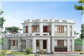 4 plex floor plans flat roof modern home design kerala house plans 83289