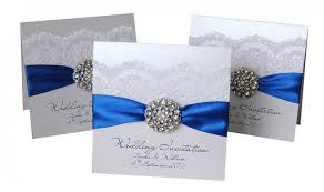 royal blue wedding invitations 17 best images about invitations on luxury wedding