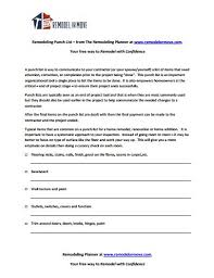 Construction Punch List Template Excel Free Punch List Templatepunch List Simple Punch List Form Pdf