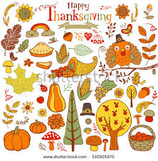 free thanksgiving vector elements free vector