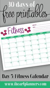 printable workout plan calendar 54 best fitness printables images on pinterest exercise workouts