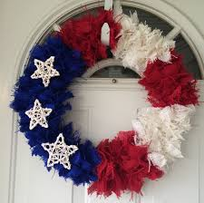 awesome handmade 4th of july wreath ideas