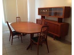 mid century modern dining table set mid century modern dining room sets