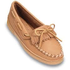 women u0027s minnetonka moccasins moosehide mocs 95292 slippers at